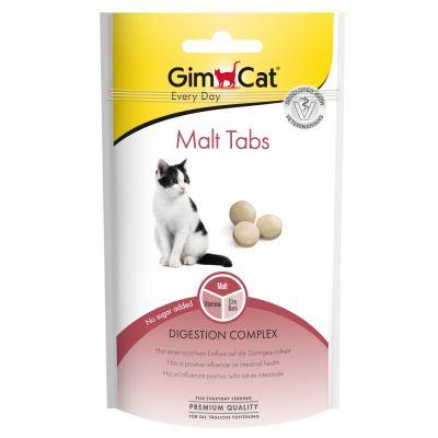 GimCat Malt Tabs - säästöpakkaus: 3 x 40 g