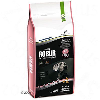 Foto Bozita Robur Genuine Salmone & Riso 20/10 - 12,5 kg Bozita Robur Adult