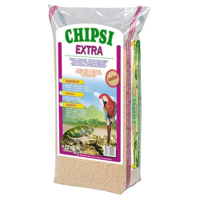 Chipsi Extra Podłoże z trocin bukowych - 15 kg, XXL-ziarna