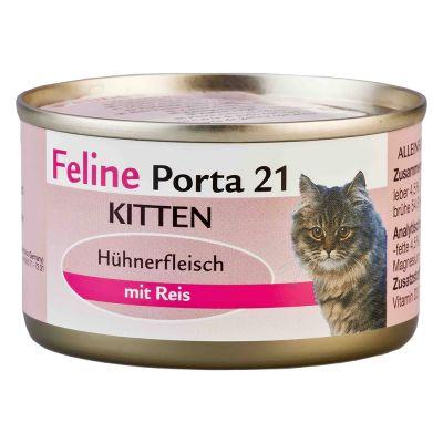 Feline Porta 21 Kitten Hühnerfleisch mit Reis