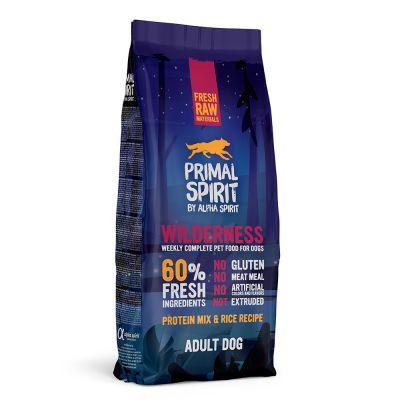 Primal Spirit 60 % Wilderness pienso para perros - 12 kg