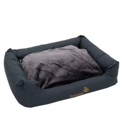 Sleepy Time Grey hundsäng – med kudde – B 100 x D 75 x H 30 cm