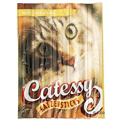 Catessy Sticks – 15 st – Lax & öring