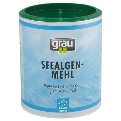Grau Seealgenmehl
