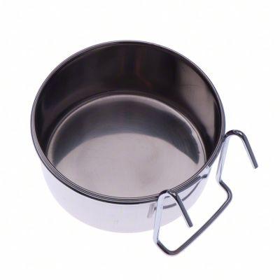 Skål av rostfritt stål med hake – 150 ml, 7 cm