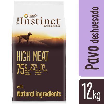 Nature's Variety True Instinct High Meat Medium-Maxi con pavo y pato - 12 kg