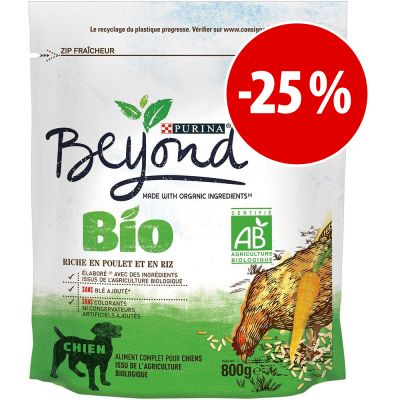 Purina Beyond Bio pienso para perros 800 g ¡con gran descuento! - Rico en pescado