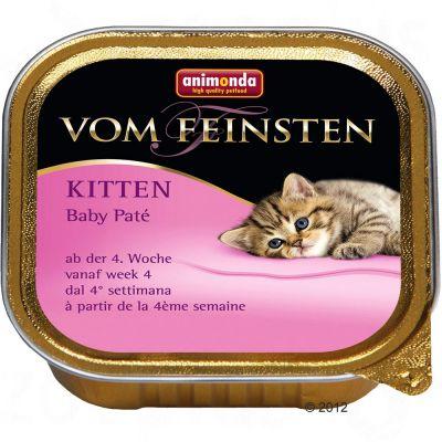 animonda-vom-feinsten-baby-pate-kattenvoer-6-x-100g-baby-pate