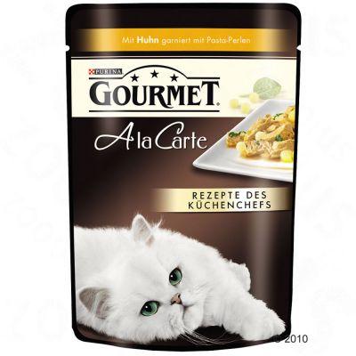 24x85g A La Carte Gourmet Hrana Umeda Pisici - Cur