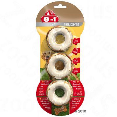 Obraz przedstawiający 8in1 Delights kółeczka do żucia - 223 g