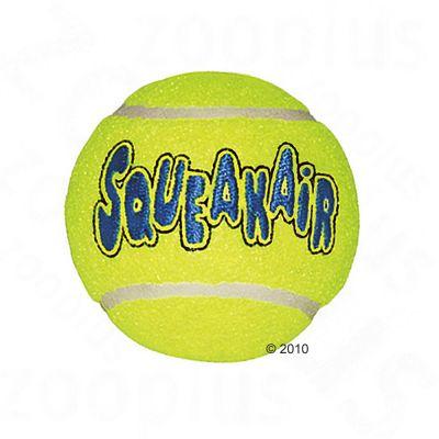 Kong Squeakair tennisbollar med pipljud – Large: 8 cm, 2-pack