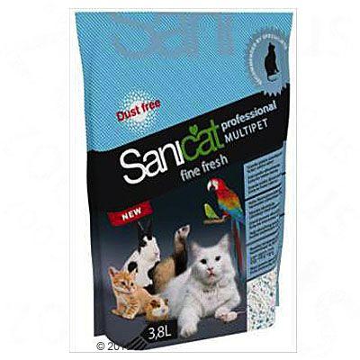 Sanicat Professional Multipet Fine Fresh Kattenbakvulling 3,8 l