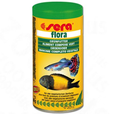 Sera Flora flingfoder – 250 ml