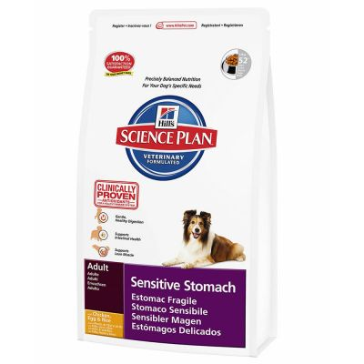 Hill's Science Plan Canine Adult Sensitive Stomach – 12 kg