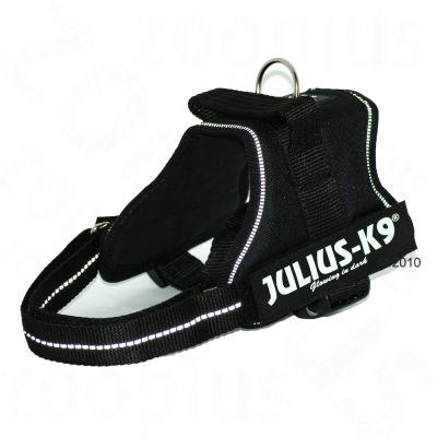 JULIUS-K9® -koiranvaljaat, musta - rinnanympärys 51 - 67 cm (Mini-koko)