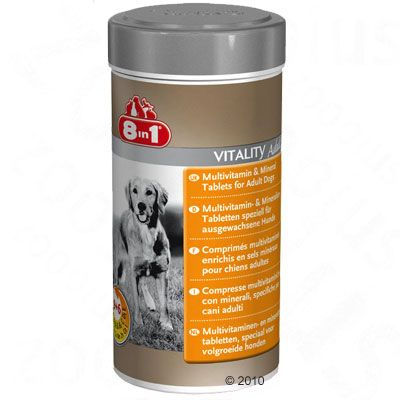 Image of Compresse multivitaminiche 8in1 Vitality Adult - 70 compresse