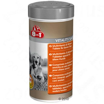 8in1 Vitality Senior – 70 tabletter
