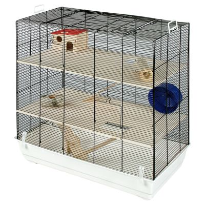 Skyline Fun Area Leon Small Pet Home - White: 67 x 36.5 x 65 cm (L x W x H)