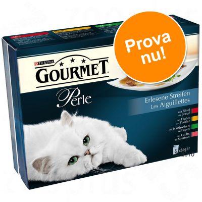 Gourmet Perle 8 x 85 g – Delikata strimlor