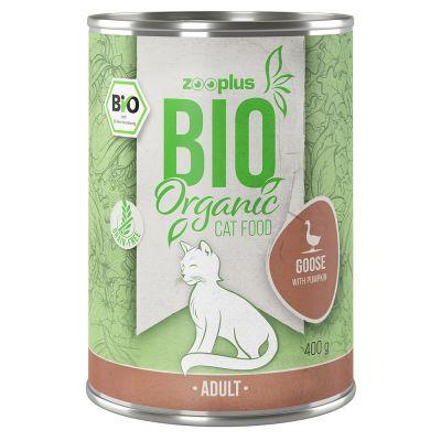 zooplus Bio husa s dýní 6 x 400 g
