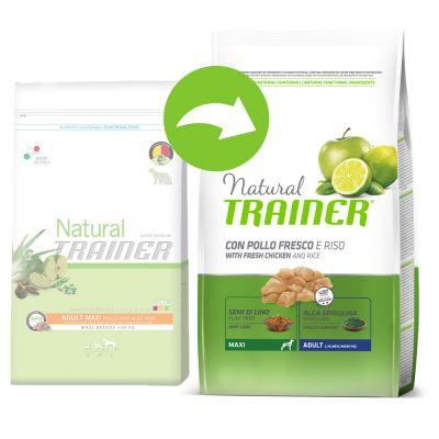 Trainer Natural Maxi Chicken, Rice, Aloe vera - säästöpakkaus: 2 x 12 kg