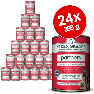 Foto 24 x 395 g Arden Grange Partners - Pollo, riso & verdure
