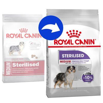 Royal Canin Medium Adult Sterilised - Pack % - 2 x 10 kg