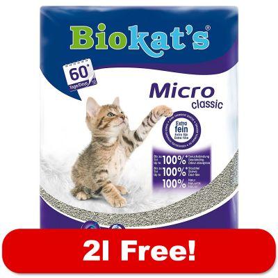 Biokat S Micro Classic Cat Litter