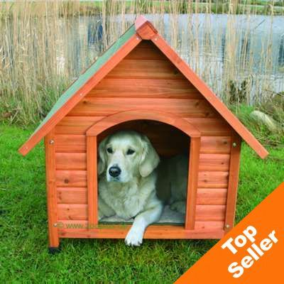 Dog Kennel Trixie Natura Pitched Roof - Size M