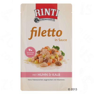 Rinti Filetto i sås 18 x 125 g – Kyckling & vaktelägg