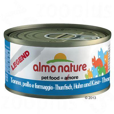 Almo Nature Legend 6 X 70g - Tuna & Squid