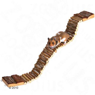 Hängbro för hamstrar – 55 cm x 7 cm