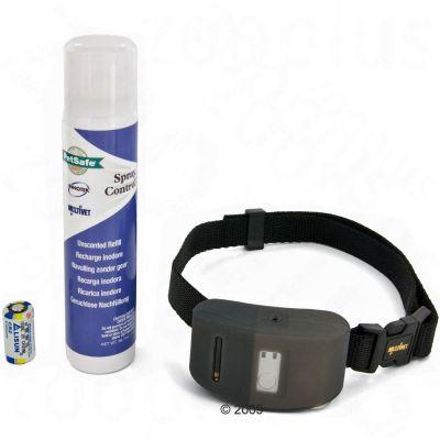 PetSafe Deluxe skallkontroll halsband – Komplettset: PetSafe Deluxe standardset, 2 påfyllnadspatroner (luktfri)