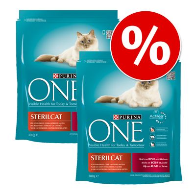 Purina ONE -säästöpakkaus 6 x 800 g - Light Chicken
