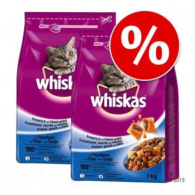 Ekonomipack: Whiskas kattfoder till lågt pris! – Adult Lamm (2 x 4 kg)
