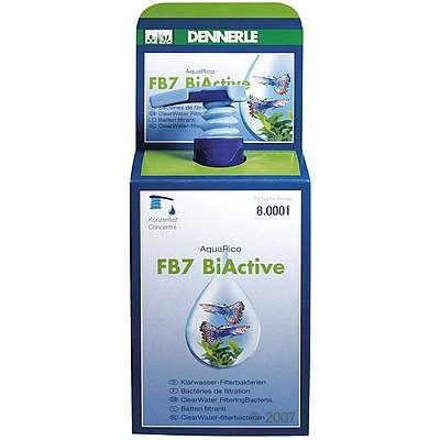 Dennerle FB7 BiActive AquaRico vattenvård – 250 ml, för 8000 l vatten
