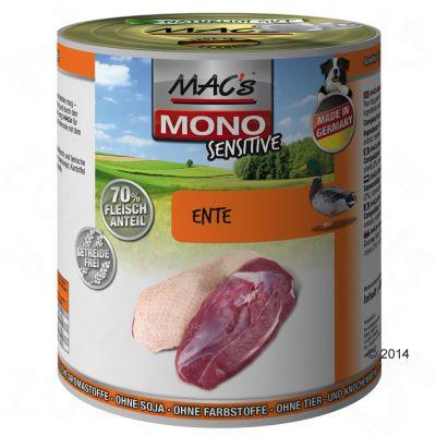 MAC's Mono Sensitive Adult 6 x 800 g – Anka