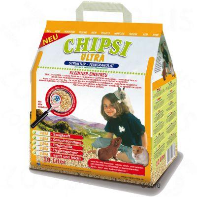 Chipsi Ultra -lemmikinkuivike - 10,0 l (4,5 kg)