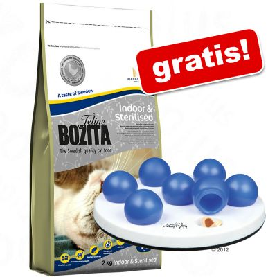 10 kg Bozita Feline + Cat Activity Solitär på köpet! – Outdoor & Active