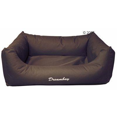Hundsäng Dreambay – brun – B 120 x D 95 x H 28 cm