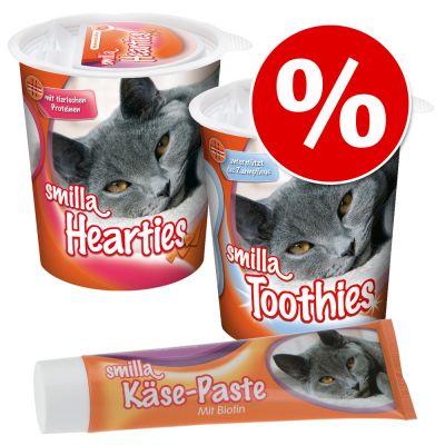 Godispaket: Smilla Hearties + Toothies + Ost kattpastej – 350 g