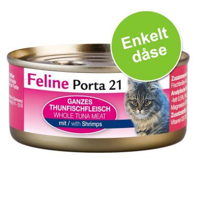 feline-porta-21-kattefoder-1-x-156-g-tun-med-rejer