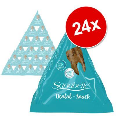 Sanabelle Snack -säästöpakkaus 24 x 20 g - Dental Snack