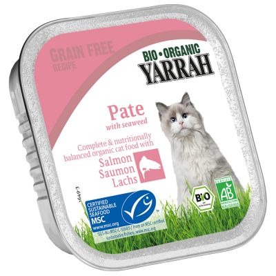Yarrah Bio Pâté 6 x 100 g - naudanliha & sikuri