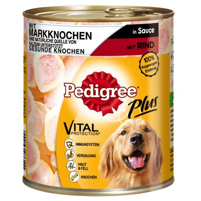 Pedigree Adult Plus 12 x 800 g - nauta & ydinluu