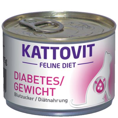 Kattovit Diabetes/ Gewicht (Blutzucker/ Diätnahrung) Nassfutter
