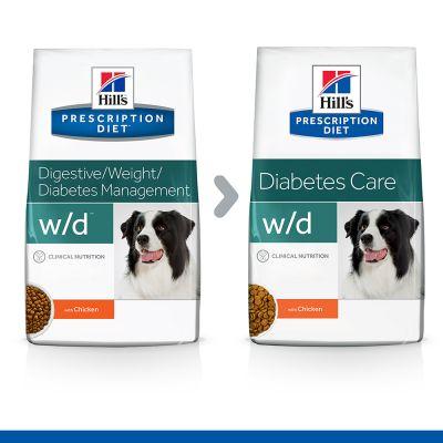 Hill's w/d Prescription Diet Diabetes Care pienso para perros - 12 kg