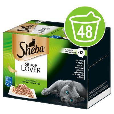 Sheba-rasialajitelma säästöpakkauksessa 48 x 85 g - Sauce Lover