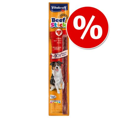 Vitakraft Beef-Stick® -säästöpakkaus 50 x 12 g - kalkkuna