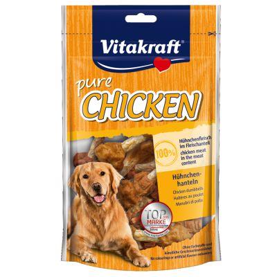 Snacks Vitakraft CHICKEN Rollitos de pollo para perros - 3 x 80 g - Pack Ahorro